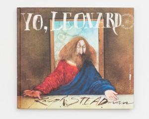 Yo-Leonardo-Ralph-Steadman-rayitas-azules